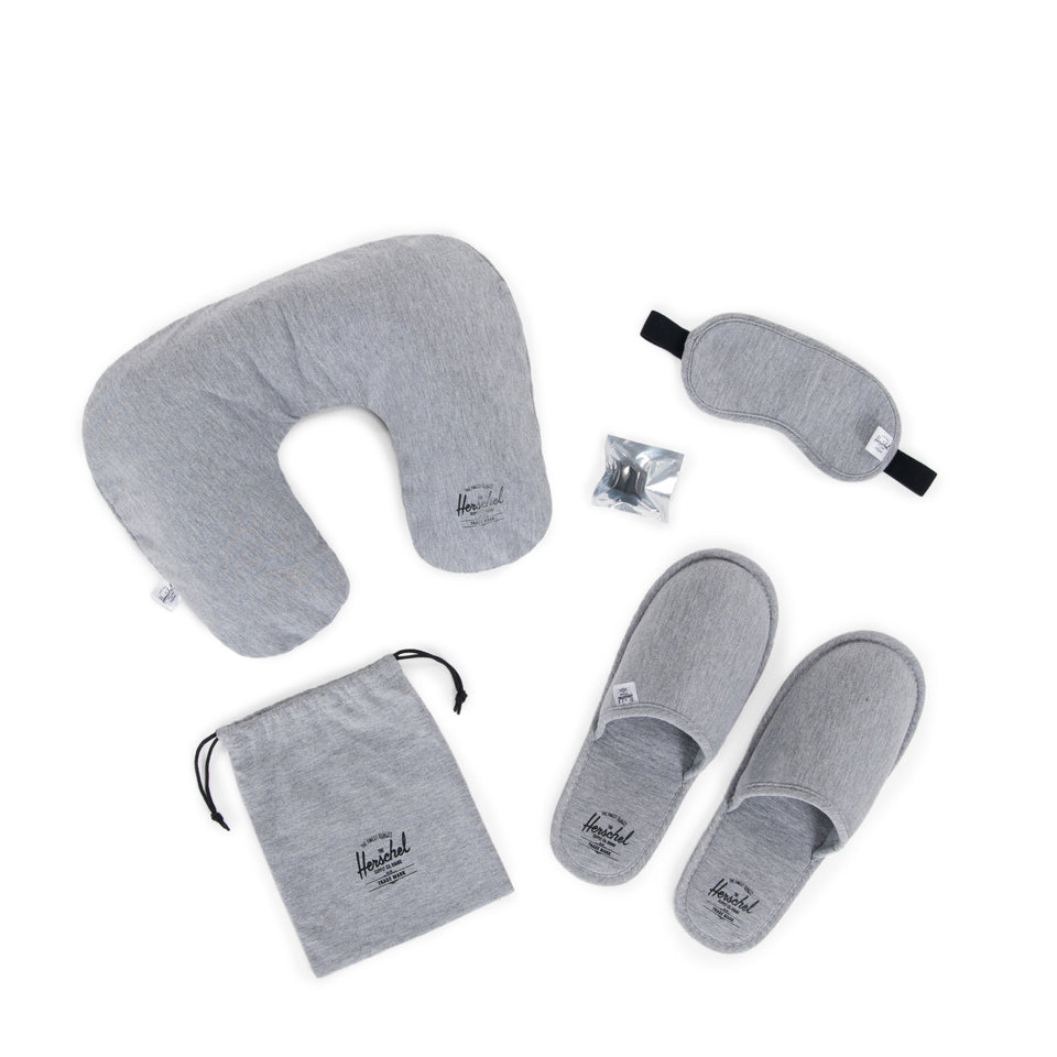 Herschel Amenity Kit Heathered Grey - Stencil