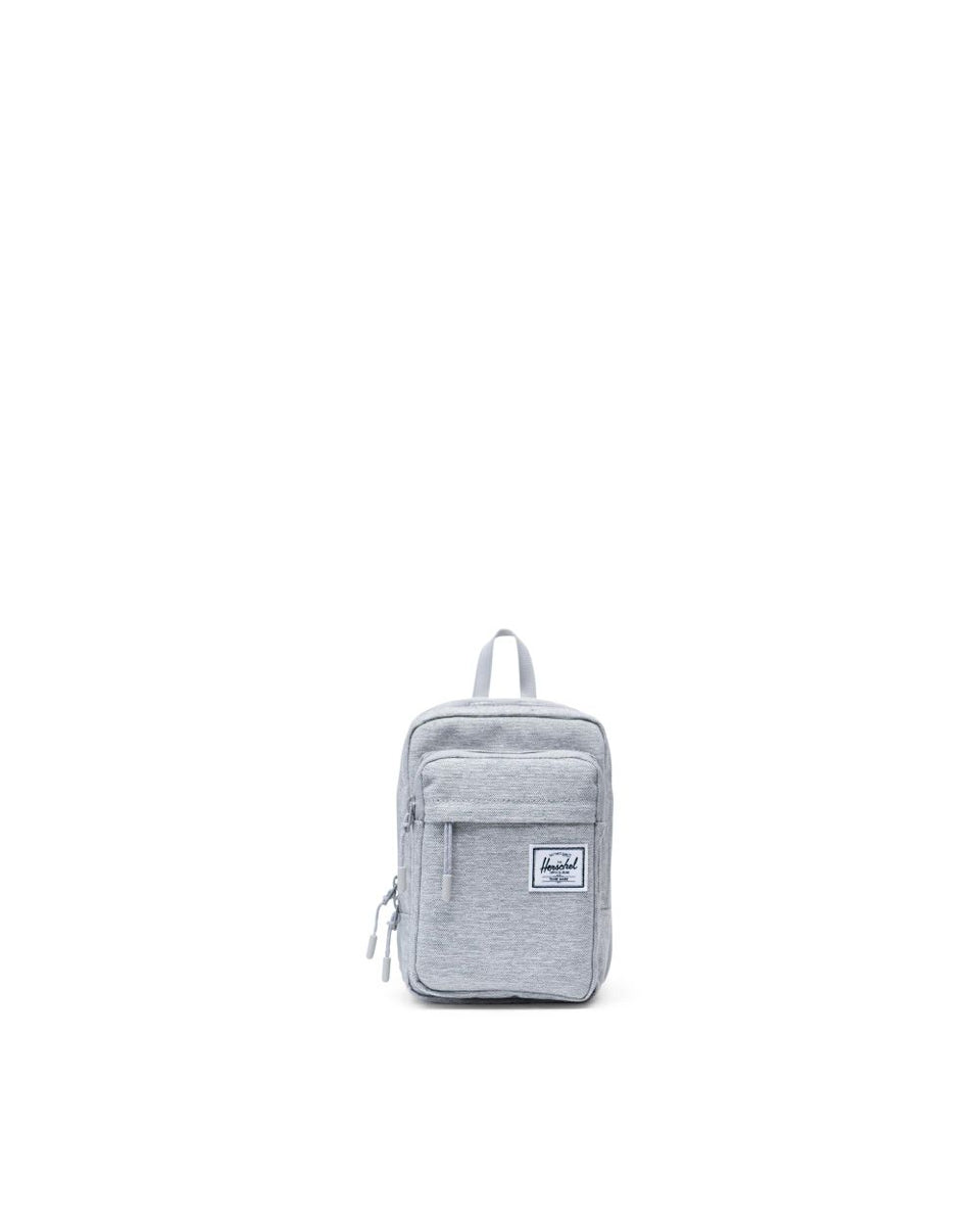 Herschel Form Crossbody Large Light Grey Crosshatch - Stencil