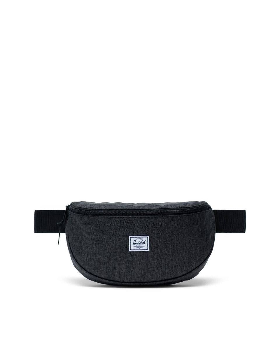 Herschel Sixteen Hip Pack Black Crosshatch - Stencil