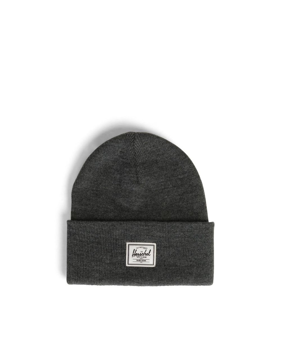 Herschel Elmer Beanie Heather Charcoal - Stencil