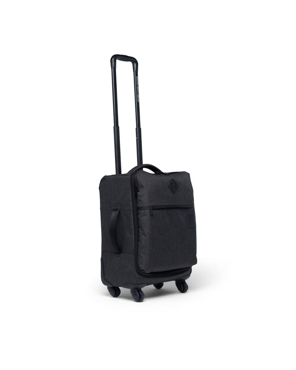 Herschel Highland Carry On Black Crosshatch - Stencil