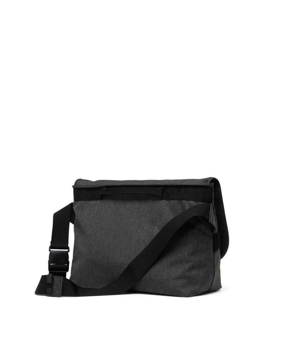 Herschel Grade Mid Volume Black Crosshatch - Stencil
