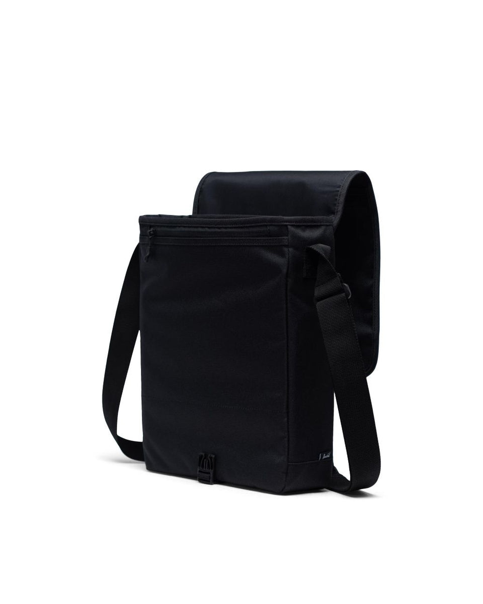 Herschel Lane Messenger Black - Stencil