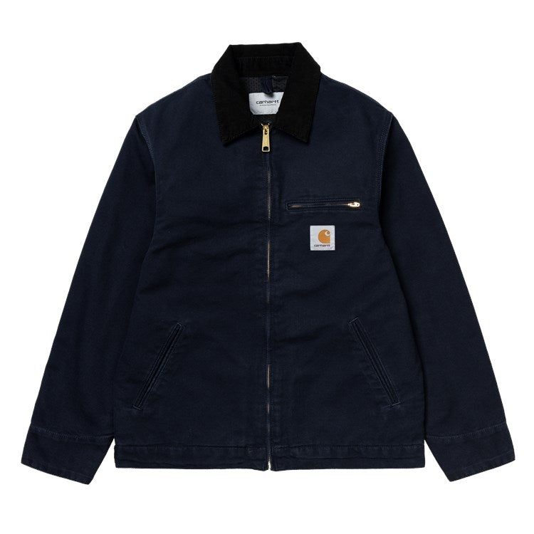 Carhartt Detroit Jacket Navy Rinsed