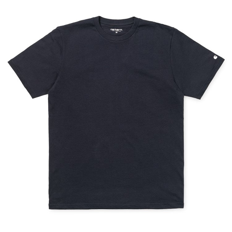 Carhartt Short Sleeve Base T Shirt Dark Navy/White