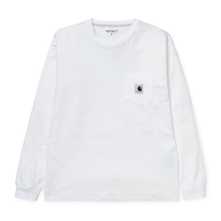 Carhartt W L/S Pocket Tee White