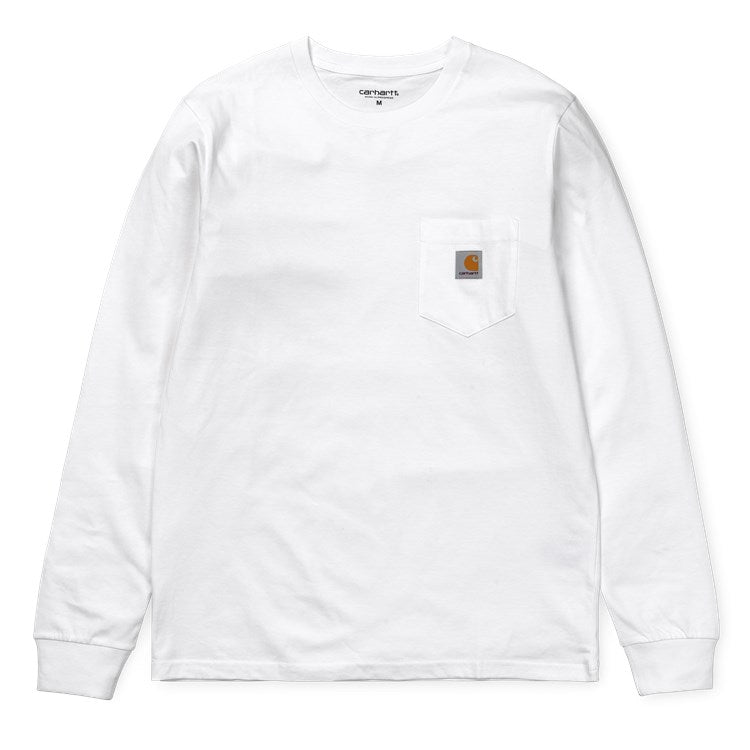 Carhartt L/S Pocket Tee Shirt White