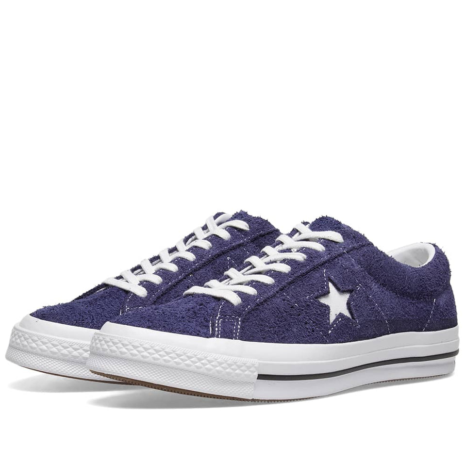 Converse One Star Vintage Suede Eclipse/ White - Stencil