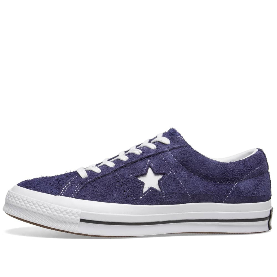 Converse One Star Vintage Suede Eclipse/ White