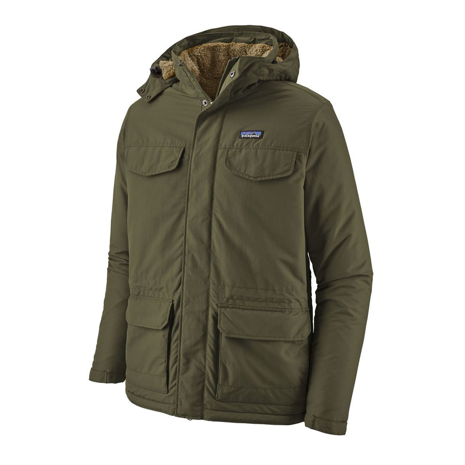 Patagonia Isthmus Parka Industrial Green - Stencil
