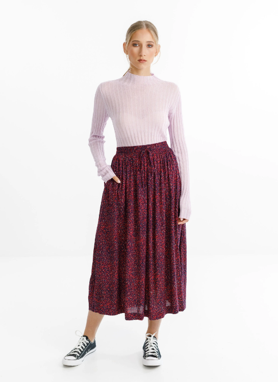 THING THING - MYSTIC SKIRT - DITSY RED