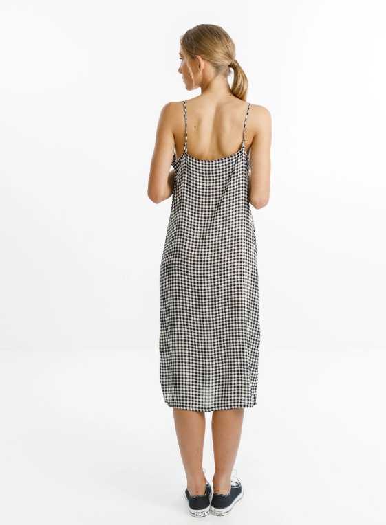 THING THING - WILDE DRESS - BLACK GINGHAM
