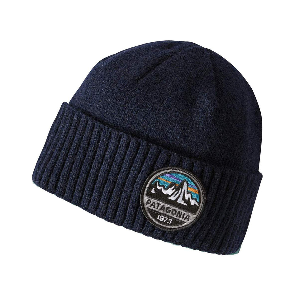 Patagonia Brodeo Beanie Fitz Roy Scope Navy - Stencil