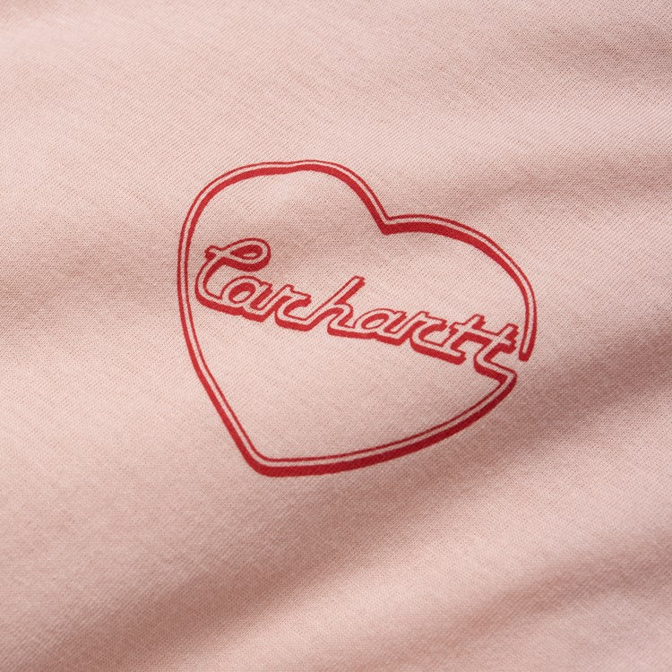 Carhartt W L/S Eve Heart Tee Powdery