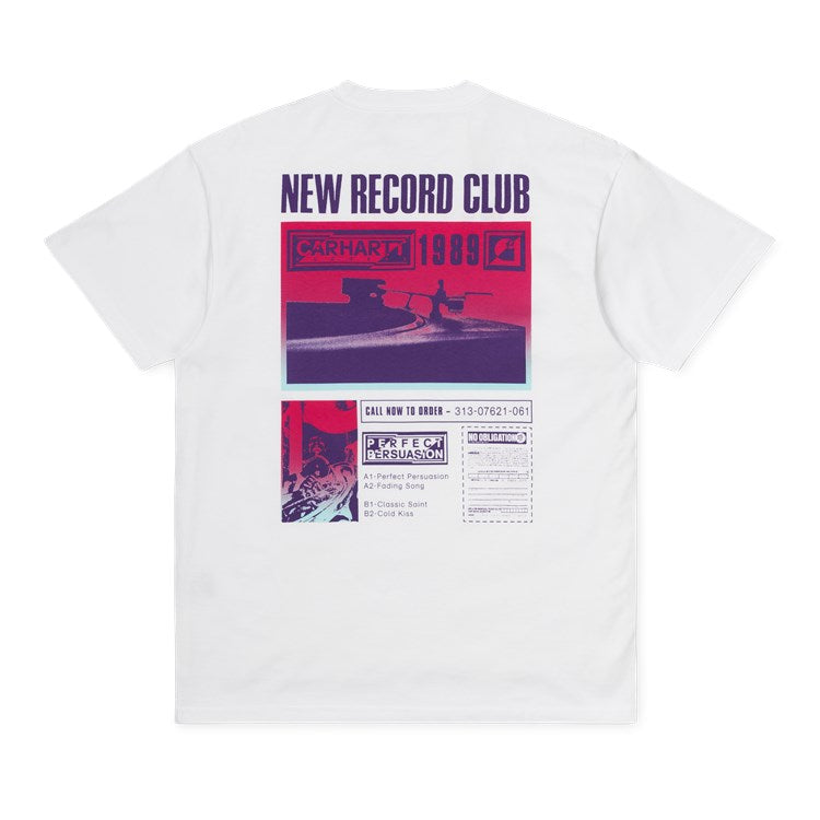Carhartt S/S Record Club T-Shirt White