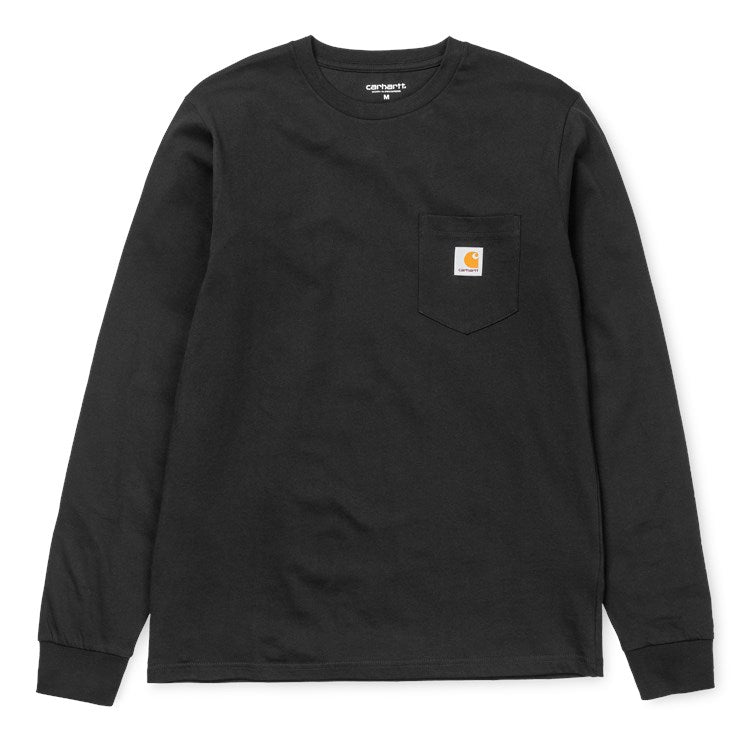 Carhartt L/S Pocket Tee Shirt Black