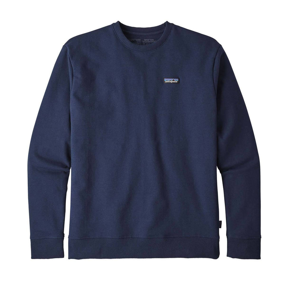 Patagonia Mens P6 Label Uprisal Crew Sweatshirt Classic Navy - Stencil