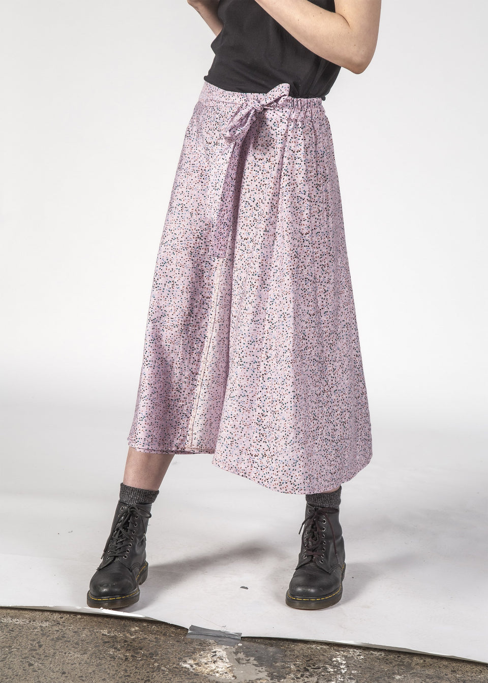 Thing Thing Freedom Skirt Lilac Speckle - Stencil