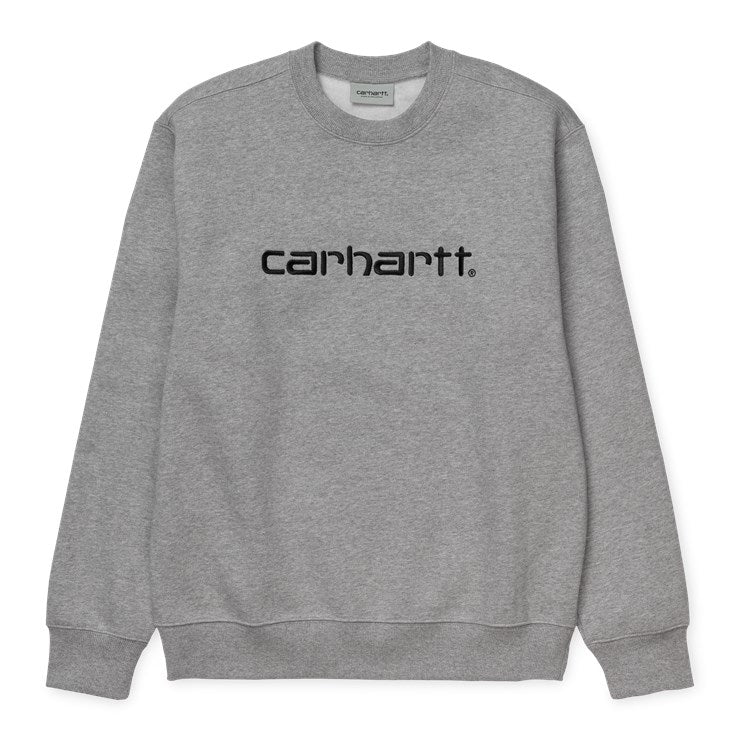 Carhartt Carhartt Sweat Grey Heather /Black - Stencil