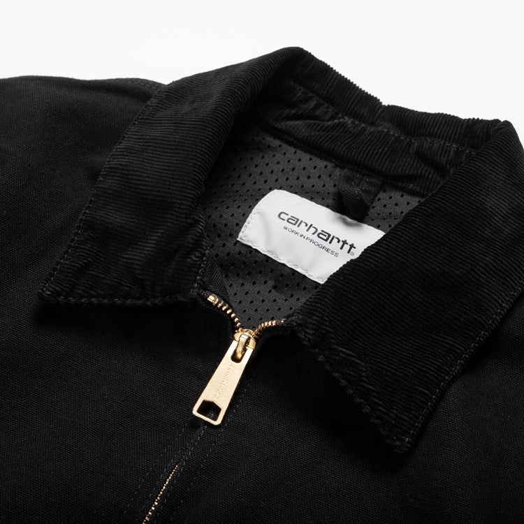 Carhartt Detroit Jacket Black Rinsed