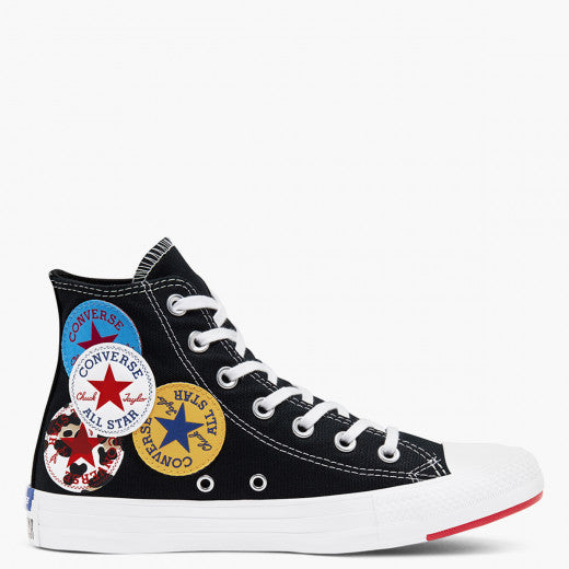 Converse Chuck Taylor All Star Multi Logo Black - Stencil
