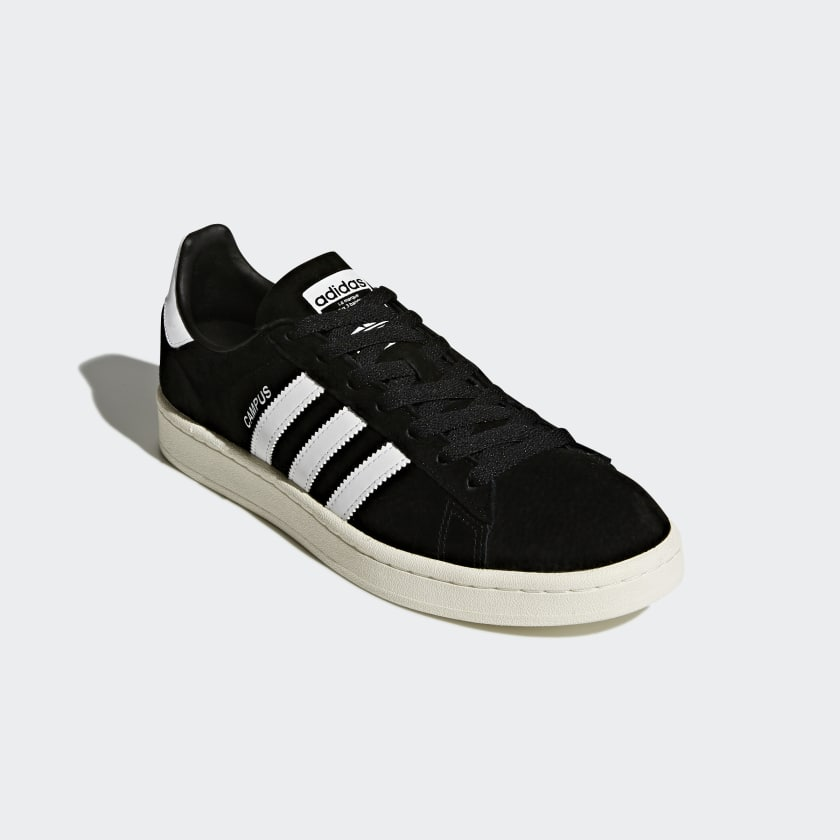 Adidas Campus Core Black/Cloud White/Chalk Black - Stencil
