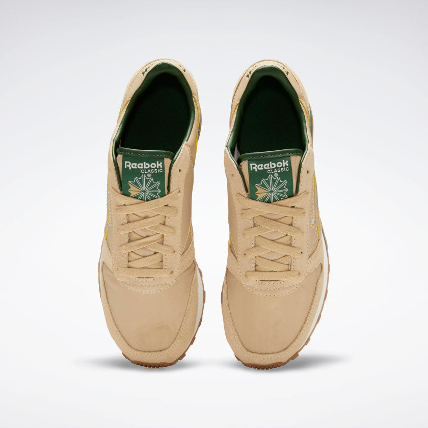 Reebok CL Leather AZ Utility Beige / Utility Green / Chalk