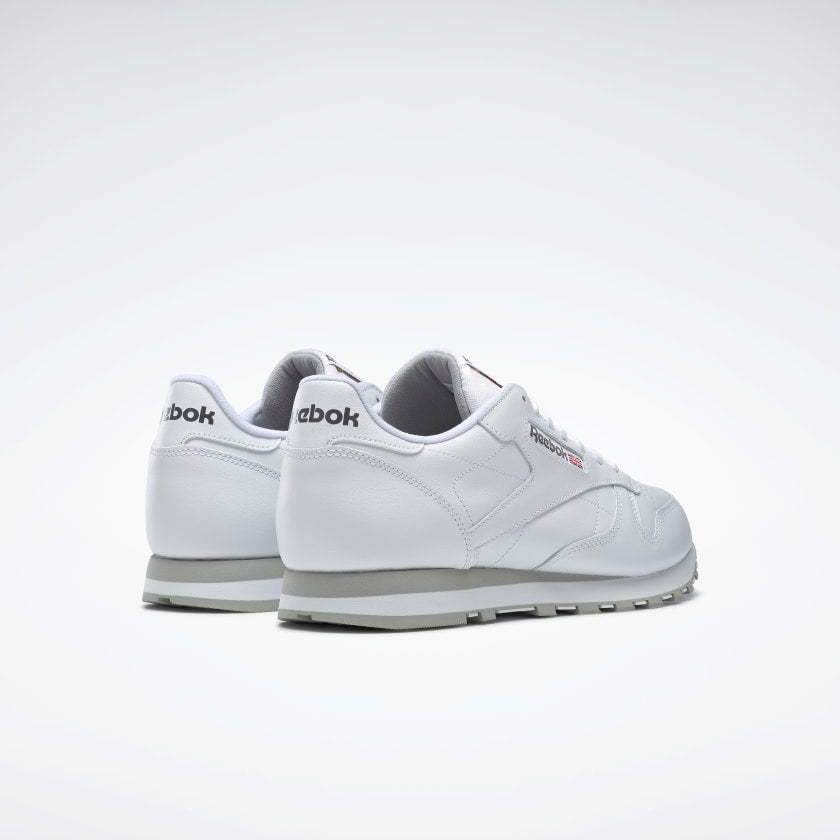 Reebok Classic Leather Intense White Light Grey