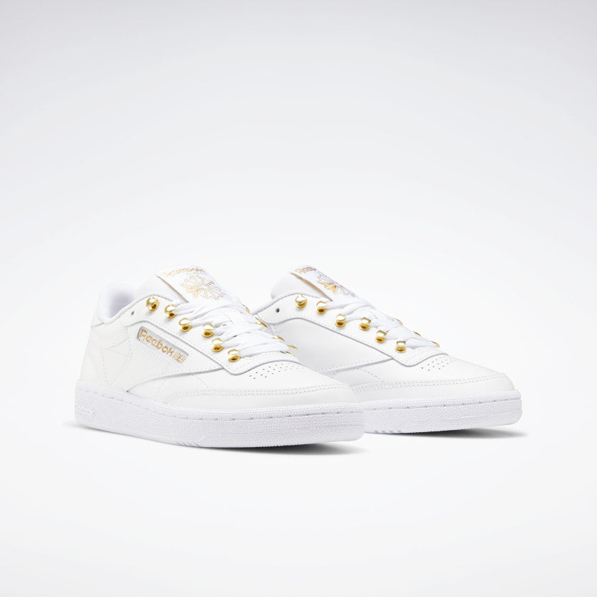 Reebok Club C 85 White/Metalic Gold/White