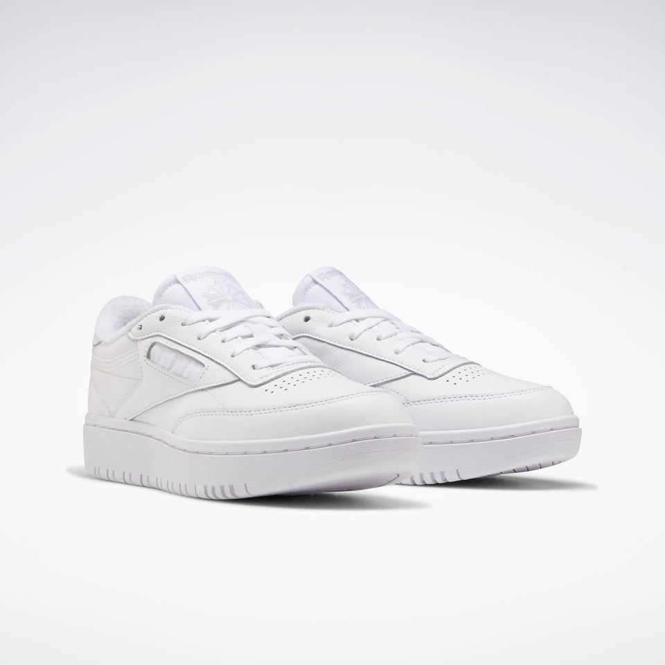 Reebok Club C Double White White