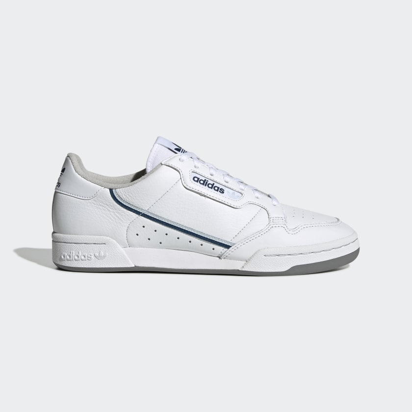 Adidas Continental 80 Cloud White/Sky Tint/Legend Marine - Stencil