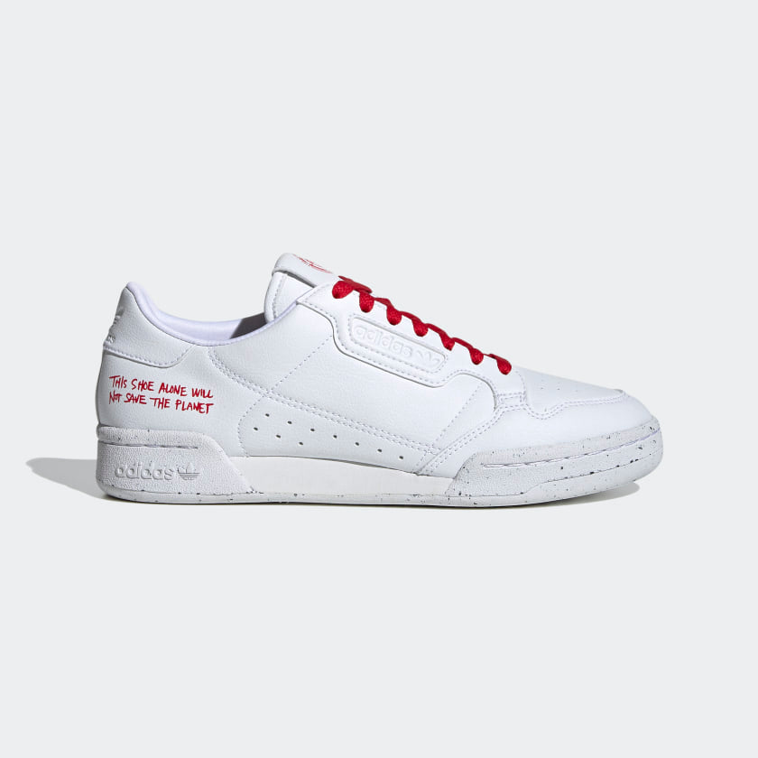 Adidas Continental 80 Cloud White/Scarlet Red
