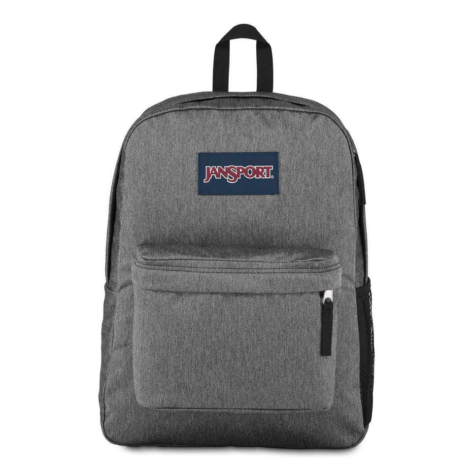Jansport Hyperbreak Heathered Grey - Stencil