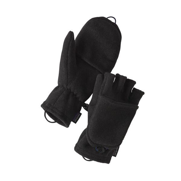 Patagonia Better Sweater Gloves Black - Stencil