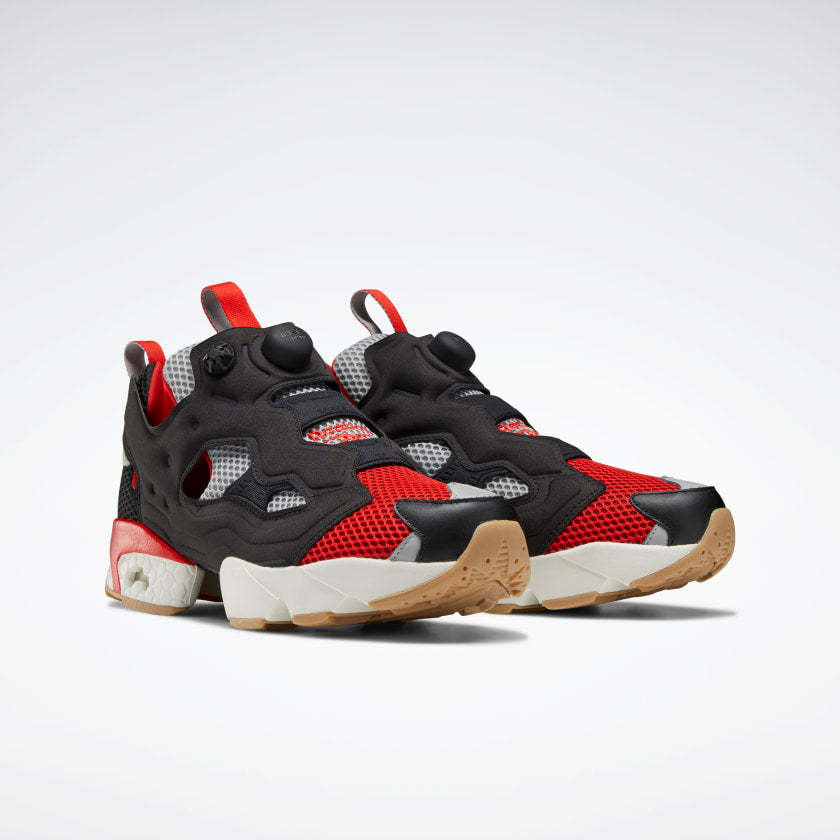 Reebok Instapump Fury OG Black / Instinct Red / Pure Grey 3