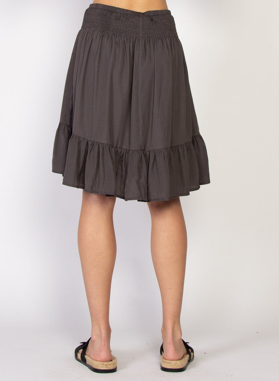 Federation Jenna Skirt - Charcoal