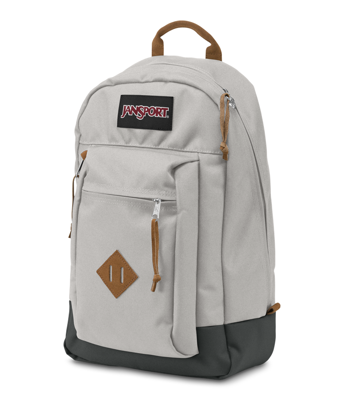 Jansport Rielly Backpack Grey Rabbit - Stencil