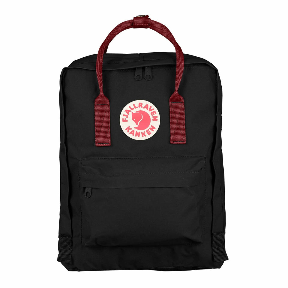 Fjallraven Kanken Backpack Black/Ox Blood