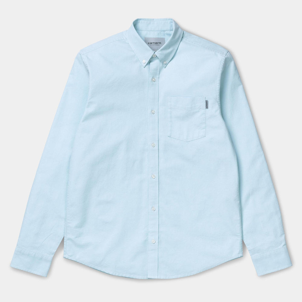 Carhartt L/S Button Down Pocket Shirt Window - Stencil
