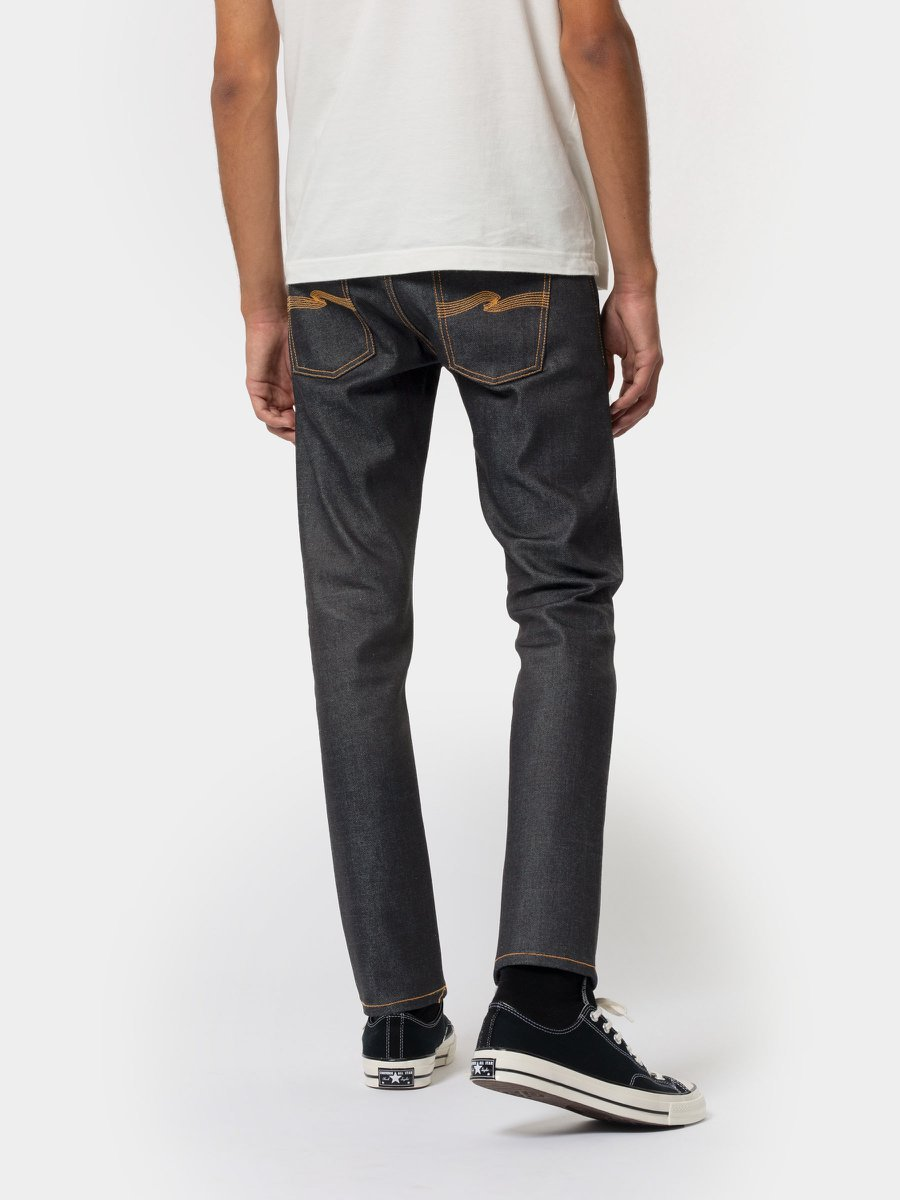 Nudie Lean Dean Dry Japan Selvage - Stencil
