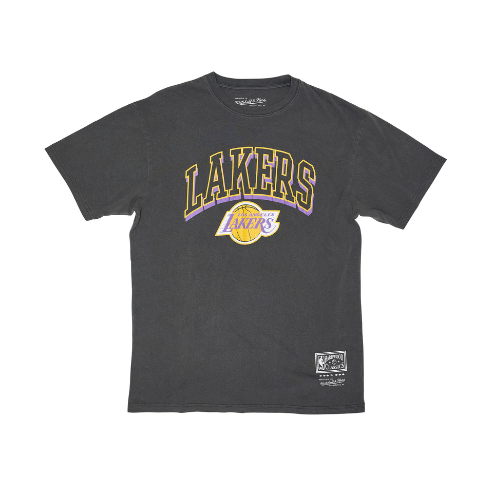 Mitchell & Ness Vintage Keyline Logo Tee LA Lakers