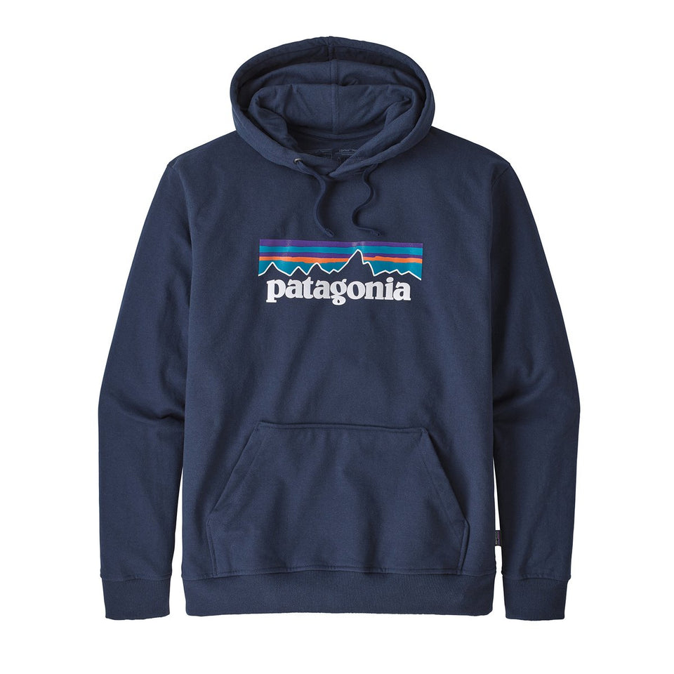 Patagonia Mens P6 Logo Uprisal Hoody Classic Navy - Stencil