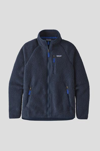 Patagonia Men's Retro Pile Jacket New Navy - Stencil