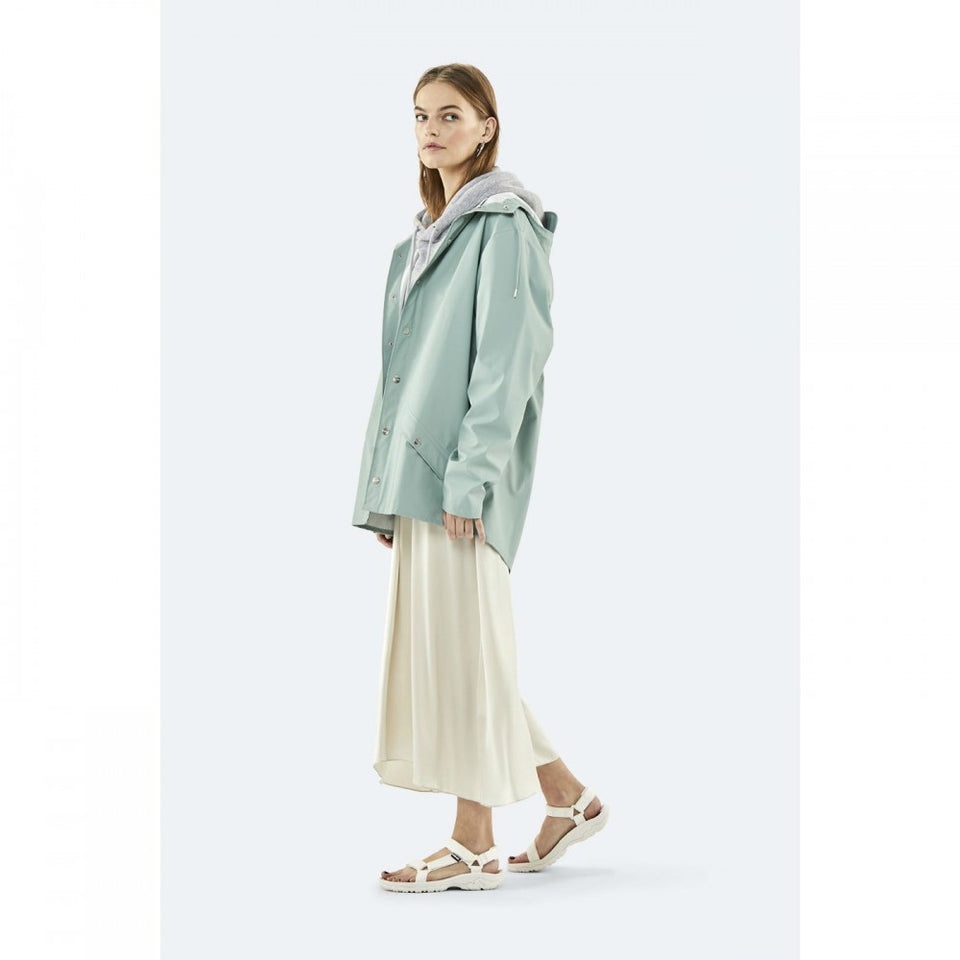 Rains Jacket Dusty Mint - Stencil