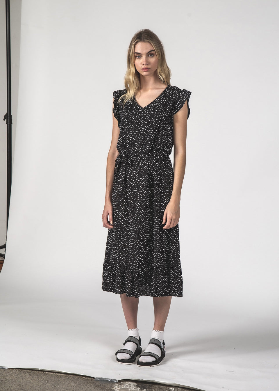 Thing Thing Stella Dress Black Spec