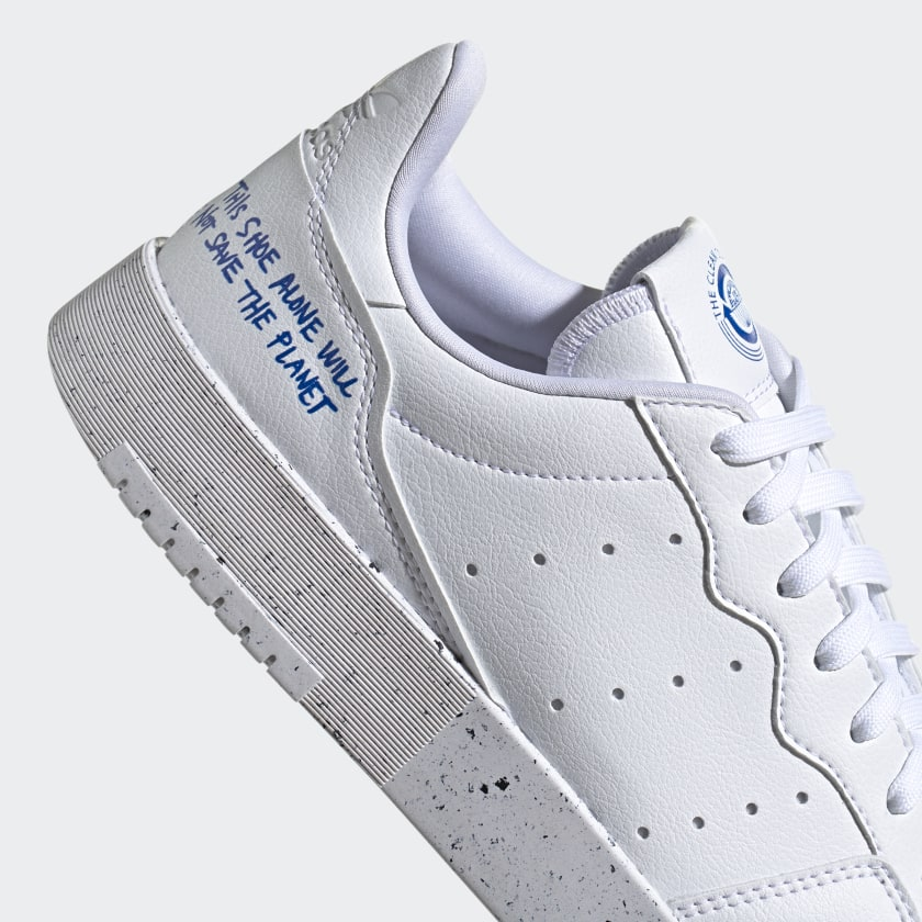 Adidas Supercourt Vegan Cloud White Collegiate Royal