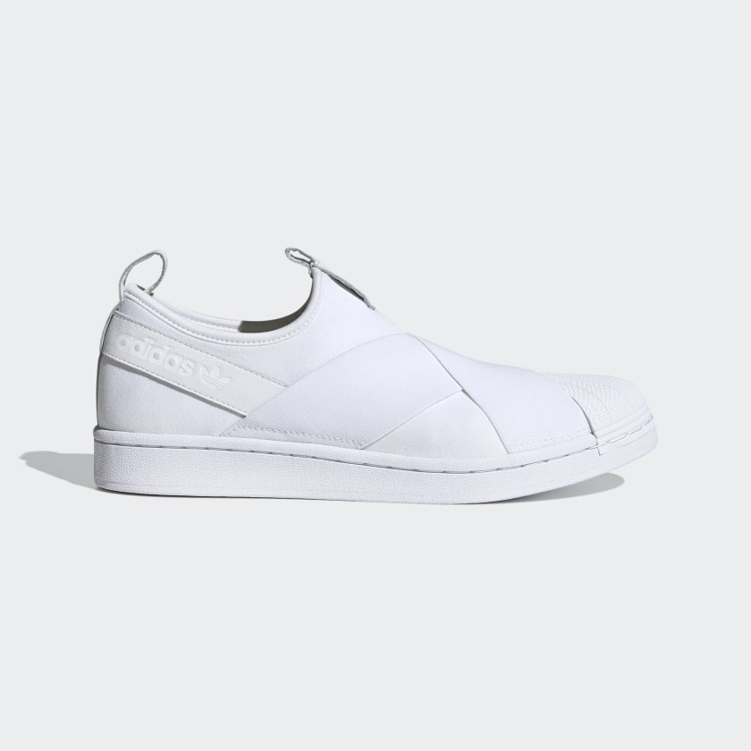 Adidas Superstar Slip On White
