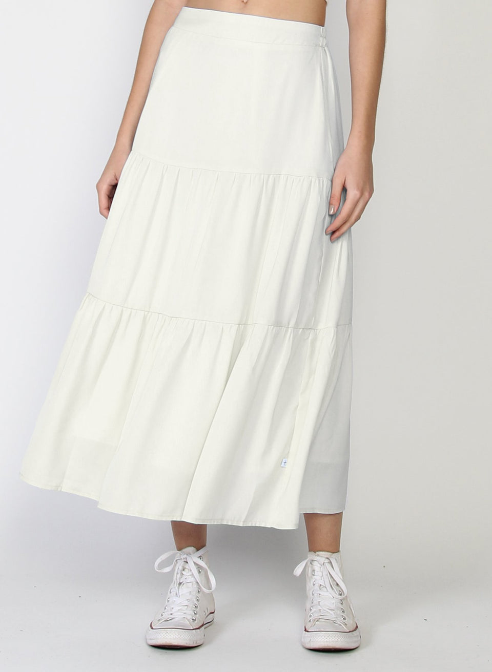 Federation Tier Skirt - Ivory