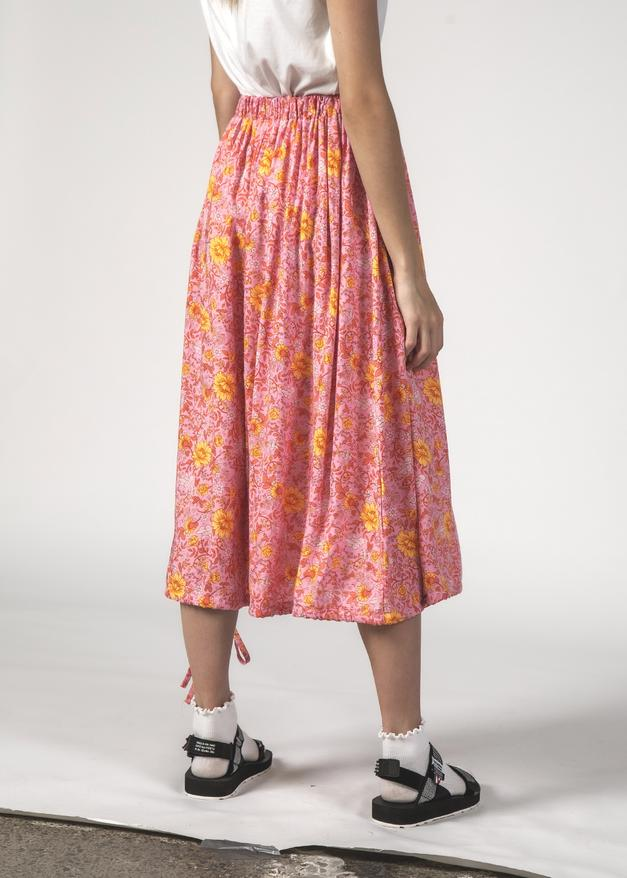 Thing Thing Twirl Skirt Floral Pink