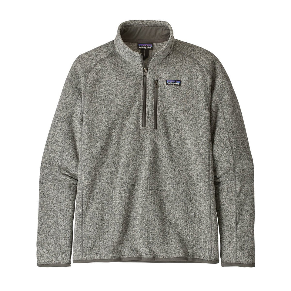 Patagonia Mens Better Sweater 1/4 Zip Stonewash - Stencil